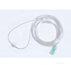 Трубка (канюля)  кислородная назальная изогнутая педиатрическая 8 мм, 2 м