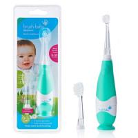 Brush-Baby - Щетка зубная электрическая звуковая от 0-3 лет  BabySonic - бирюзовая