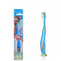 Детская зубная щётка Baby-Brush FlossBrush NEW с 6 лет, синяя