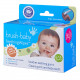 Brush-Baby DentalWipes детские зубные салфетки-напалечники с ксилитолом и ромашкой, 20 шт/уп.