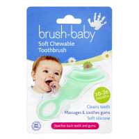 Brush-Baby Chewable Toothbrush жевательная силиконовая зубная щётка