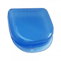 Plastic Box-Бокс пластиковый 82*85*29 для хранения, цвет голубой, синий, желтый, белый