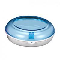 Plastic Box-Бокс  87*28 для хранения ортодонтических конструкций, цвет: аквамарин, пурпурный