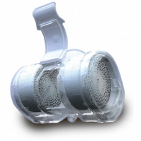 100/570/022 Термовент Т2 дыхательный, тепловлагообменник с портами для аспирации и кислородной терапии