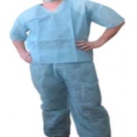 Костюм медицинский «КОМФЭКС» с коротким рукавом